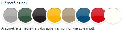 Hammerite spray elérhető színek