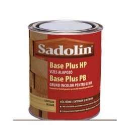 Sadolin Base Plus HP, vizes bázisú favédőszer alapozó