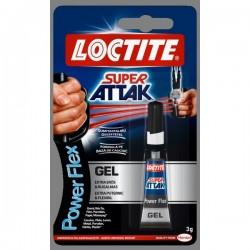 LOCTITE SUPER ATTAK POWERFLEX GÉL 3g